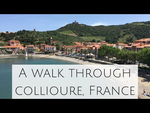 Facebook Live: Collioure, France on the Mediterranean