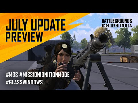 [ENGLISH] JULY Update Patch Notes Preview - BATTLEGROUNDS MOBILE INDIA