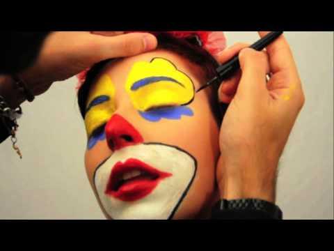 Trucco Make Up Clown Pagliaccio Youtube