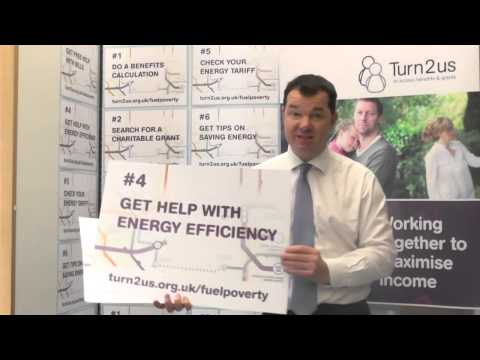 Guy Opperman, MP supports Turn2us Fuel Poverty campaign