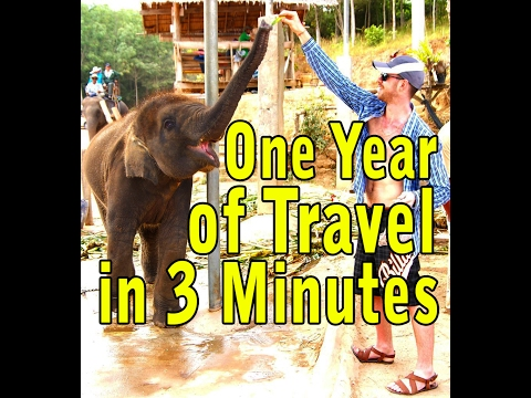 One Year of Travel in 3 Minutes: Vietnam, Mexico, Dominican Republic, India, Greece,Cyprus,Emirates
