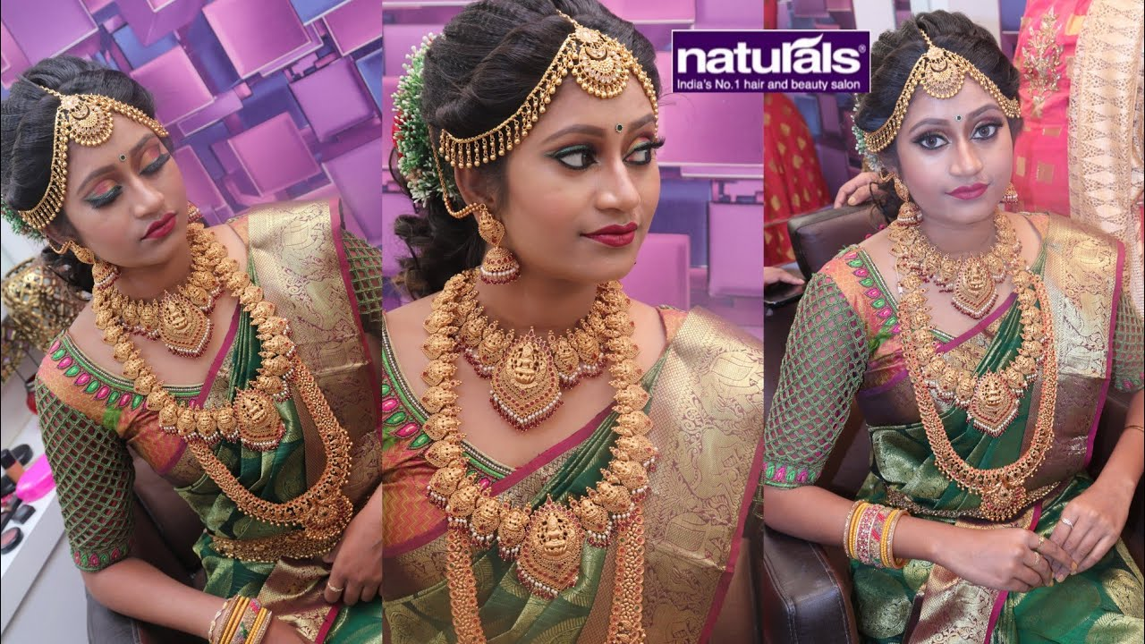 Stunning Muhurtham Makeup By Egmore Naturals South Indian Bridal Makeup Look Youtube