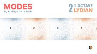Modes 2d - 8ve / LYDIAN