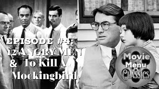 Movie Menu Classics  12 Angry Men & To Kill A Mockingbird