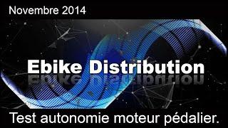 test autonomie moteur pédalier xofo pour vélo electrique