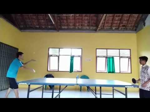 Ping Pong Amatir Kampungan - Sutino VS Ali (Game 1)