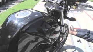 Low-Speed Crash Test Yamaha FZ16