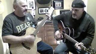 Hooked on a feeling  BJ Thomas cover by the Miller Brothers
