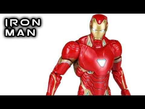 Marvel Legends IRON MAN Avengers Infinity War Thanos Wave Action Figure Review