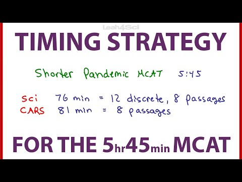 passage-timing-for-the-shorter-mcat---revised-pacing-strategy
