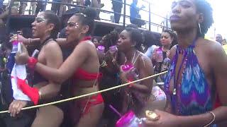 Trinidad Carnival on avenue (Tribe Carnival Band)