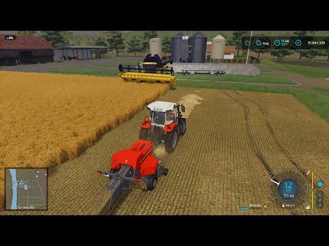 Farming Simulator 22 | Raw Gameplay Footage