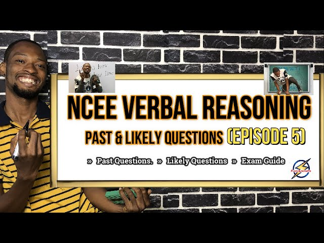 Primary Six Exam (NCEE) Verbal Reasoning Questions | Episode 5