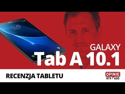 Samsung Galaxy Tab A 10.1 (2016) - recenzja wydajnego tabletu z dużym ekranem |Opinie RTV AGD