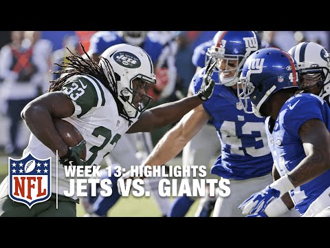 Jets vs. Giants | Week 13 Highlights | NFL