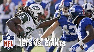 Jets vs. Giants   Week 13 Highlights   NFL