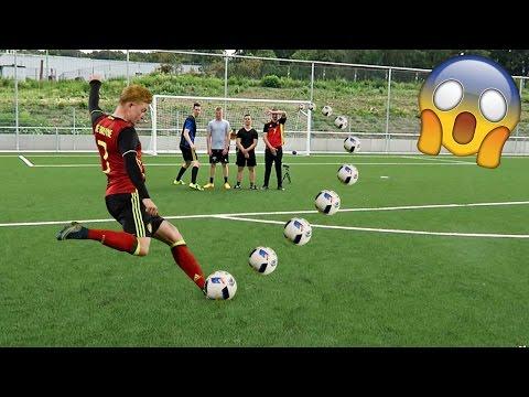 free kick challenge