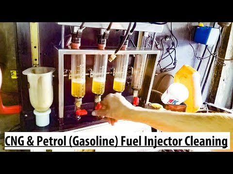 Fuel injector cleaning | CNG & Petrol (Gasoline)