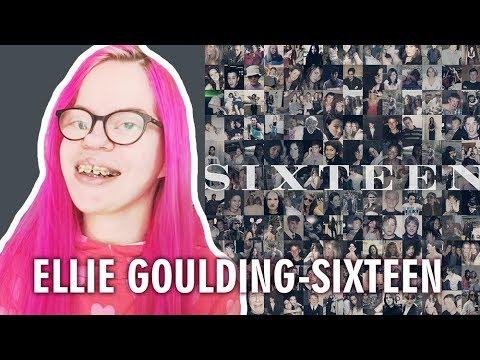 ELLIE GOULDING - SIXTEEN (REACTION) | Sisley Reacts