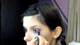 Gothic: Merlina Addams Make up Tutorial