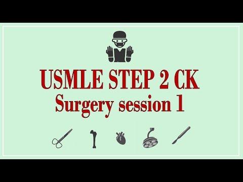 USMLE STEP 2 CK: Surgery 1