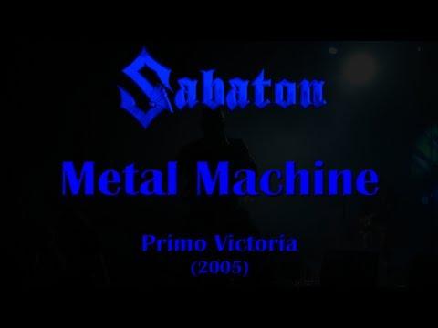 Sabaton - Metal Machine (Original Lyrics)