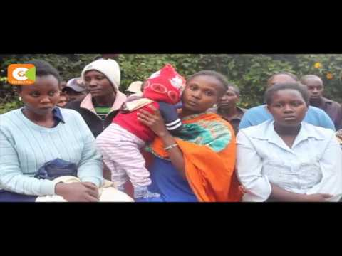 Kiguoya residents cry foul over killer road