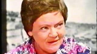 Magda Hain: Fernsehinterview mit der berühmten Sängerin vom 16.7.1971 (Archiv: Gunther Gerke)