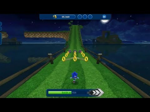 Sonic Dash In FULLSCREEN Android Gameplay | Android GamePlay - Games Download - Game Download
