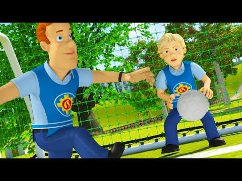 Sam le Pompier francais | Coupe du Monde de la FIFA ⚽Sam joue au football | Dessin animé