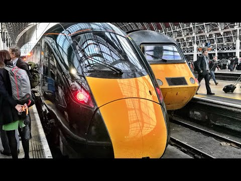 The VERY FIRST GWR Class 800 Hitachi Super Express Train! Monday 16th October 2017