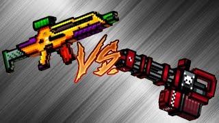 Pixel Gun 3D - Hellraiser vs Automatic Peacemaker