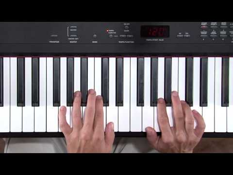 Mary Had a Little Lamb in the keys of G, D, and A - beginner piano lesson