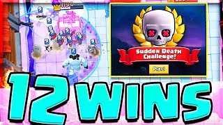Best Sudden Death Deck • EASY 12 WINS • Clash Royale