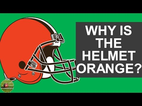 Why Is The Browns Helmets Orange?