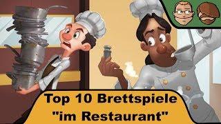Top 10 Restaurant-Brettspiele - Cron