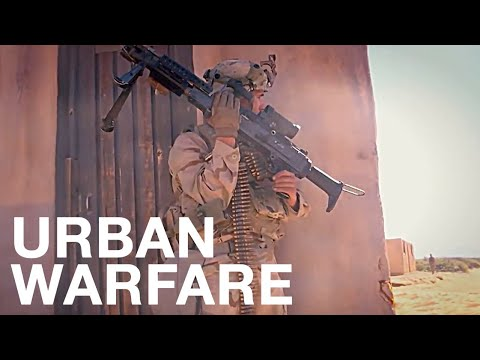 US Military Prep For War By Battling In TOUGH & REALISTIC Urban Warfare Simulation