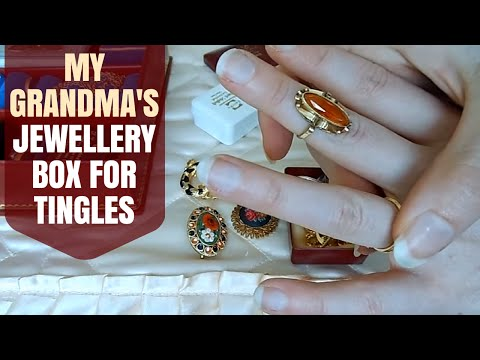 ASMR Whispering - Old Jewellery Collection (Show & Tell)