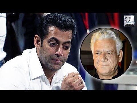 Salman Khan REACTS On Om Puri's Demise  LehrenTV