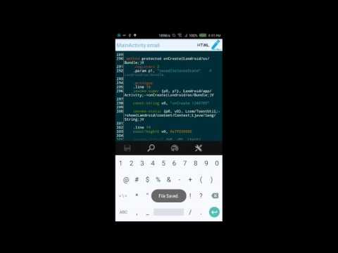 [Android] A Simple Example of Smali Editing in APK Editor Pro