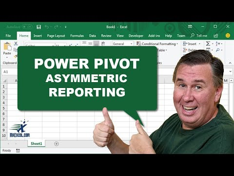 PowerPivot Data Analyst 12 - Asymmetric Reporting