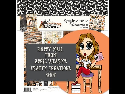Happy mail from April Vicarys Crafty Creations Shop