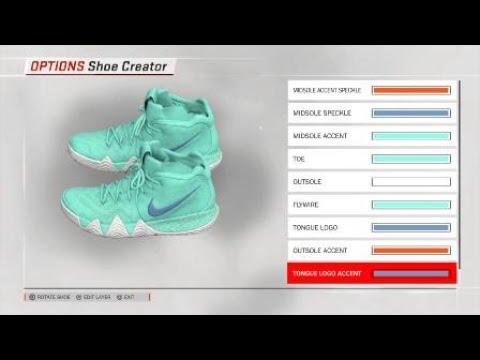 c3925184e2e Power is Female Kyrie 4 for NBA 2K18 - YouTube