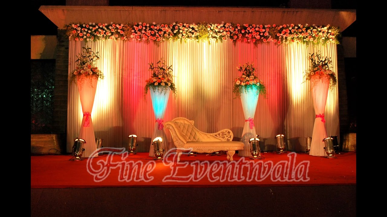 Wedding Stage Decoration Pune Mobile 9762114742 Youtube