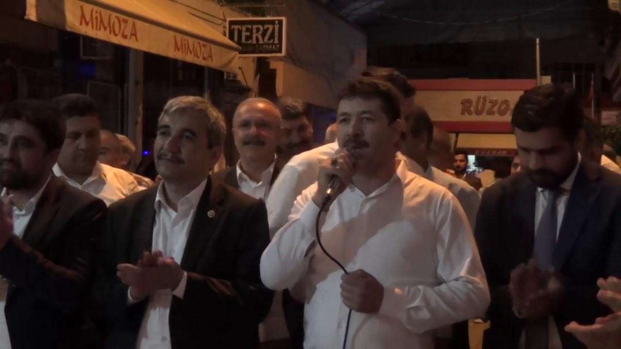 AK Parti'nin Mersin Milletvekili Adayları Erdemli'de