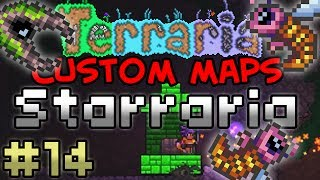 CRAZY POISON PLANET! - Terraria: Starraria #14 [Custom Map]