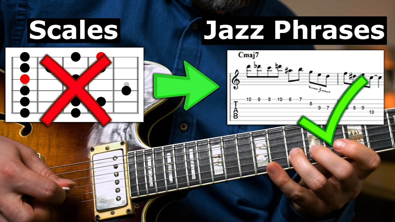 How To Go From Scales to Great Jazz Phrases