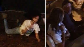 Obamas Girls - Malia Obama Rocks Out, Dances Like Crazy at Lollapalooza