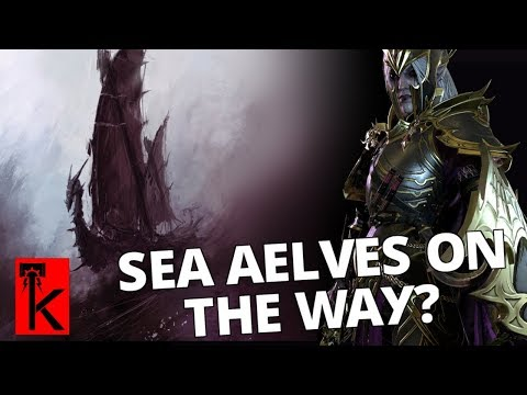 RUMOUR: SEA AELVES COMING TO AGE OF SIGMAR? Warhammer AoS
