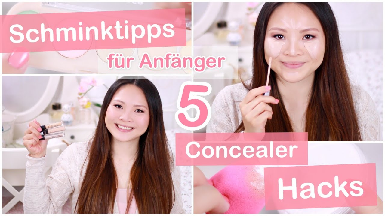 5 concealer hacks top drogerie concealer schminktipps f r anf nger mamiseelen youtube. Black Bedroom Furniture Sets. Home Design Ideas